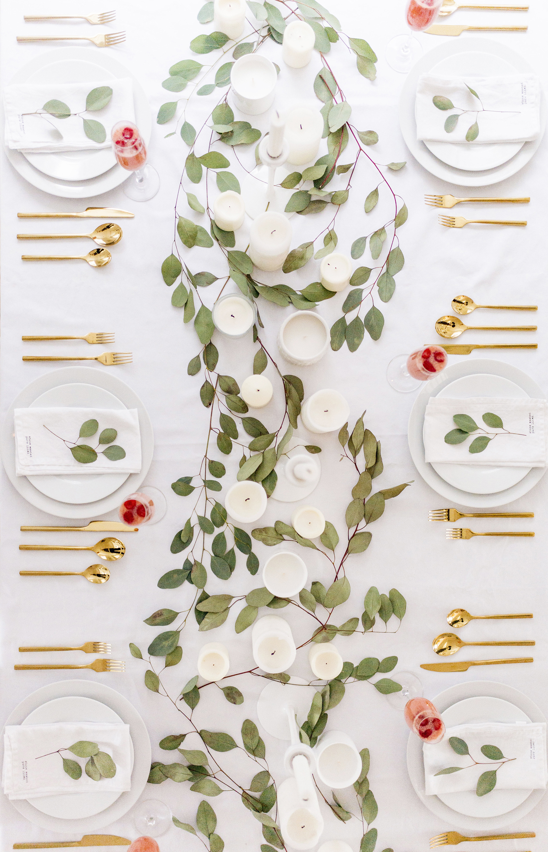 Simple Modern Valentine S Day Tablescape Happy Grey Lucky