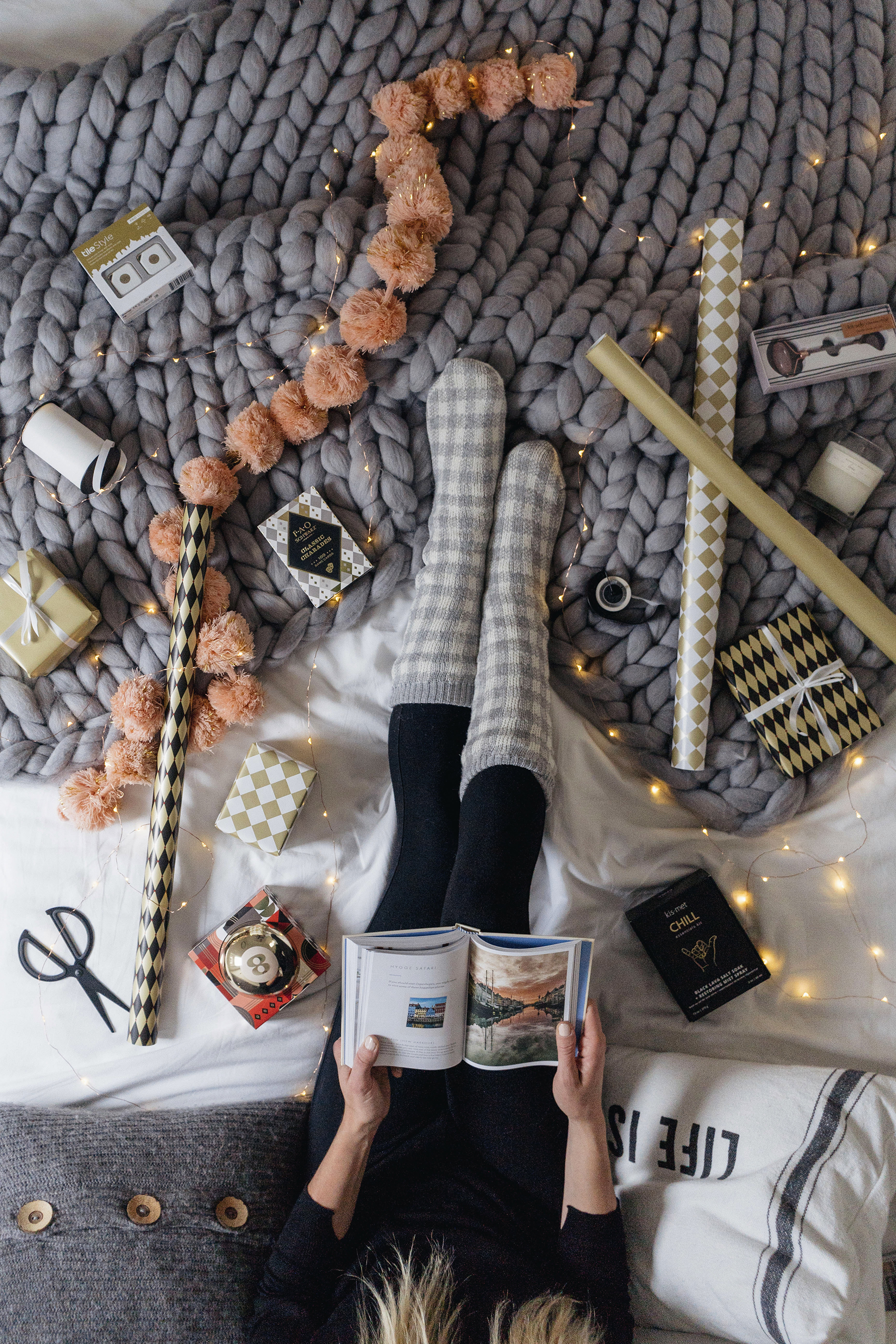 15 Perfect Christmas Gift Ideas to Enjoy at Home | Happy Grey Lucky