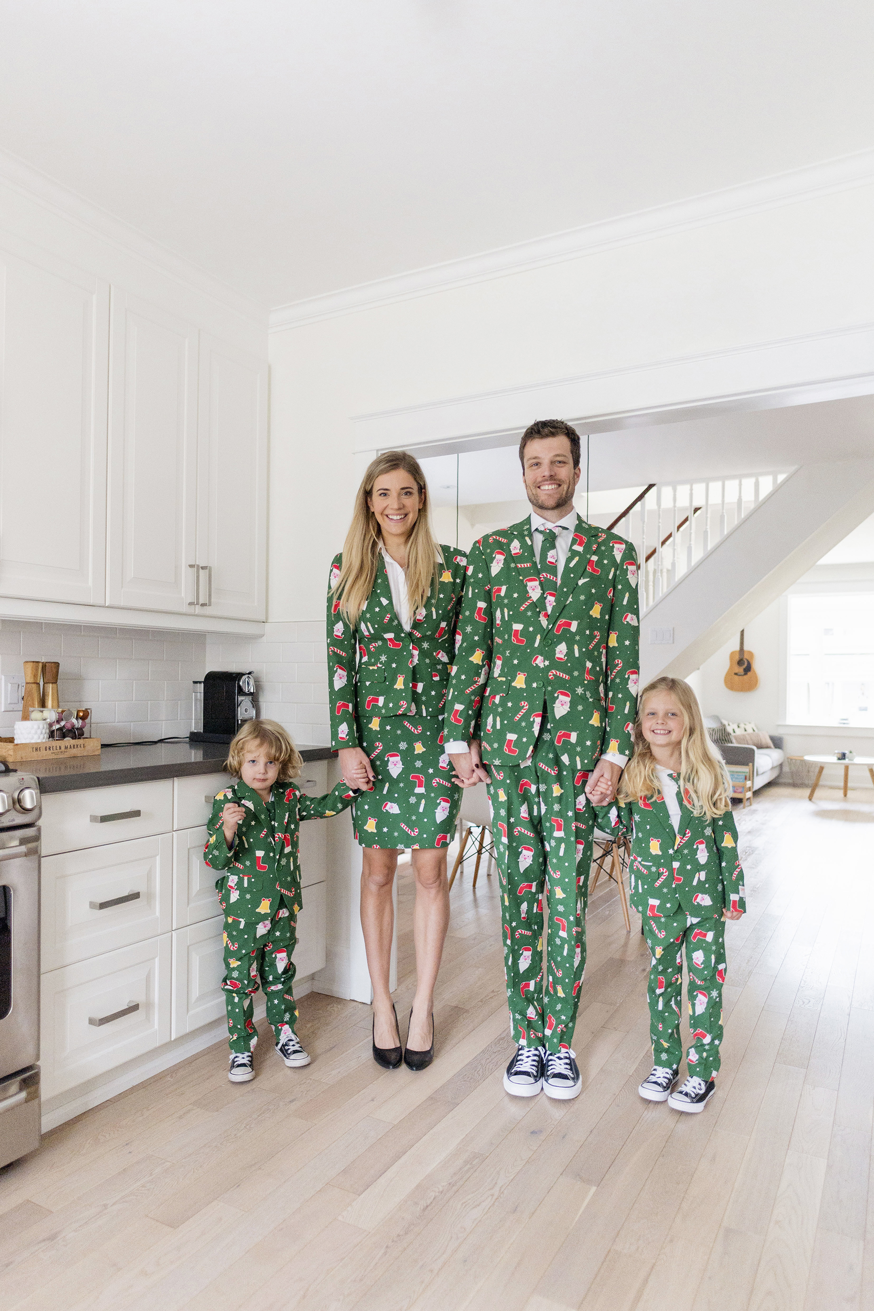 Christmas Pajamas Photoshoot.Our Family Christmas Photos With Opposuits Happy Grey Lucky