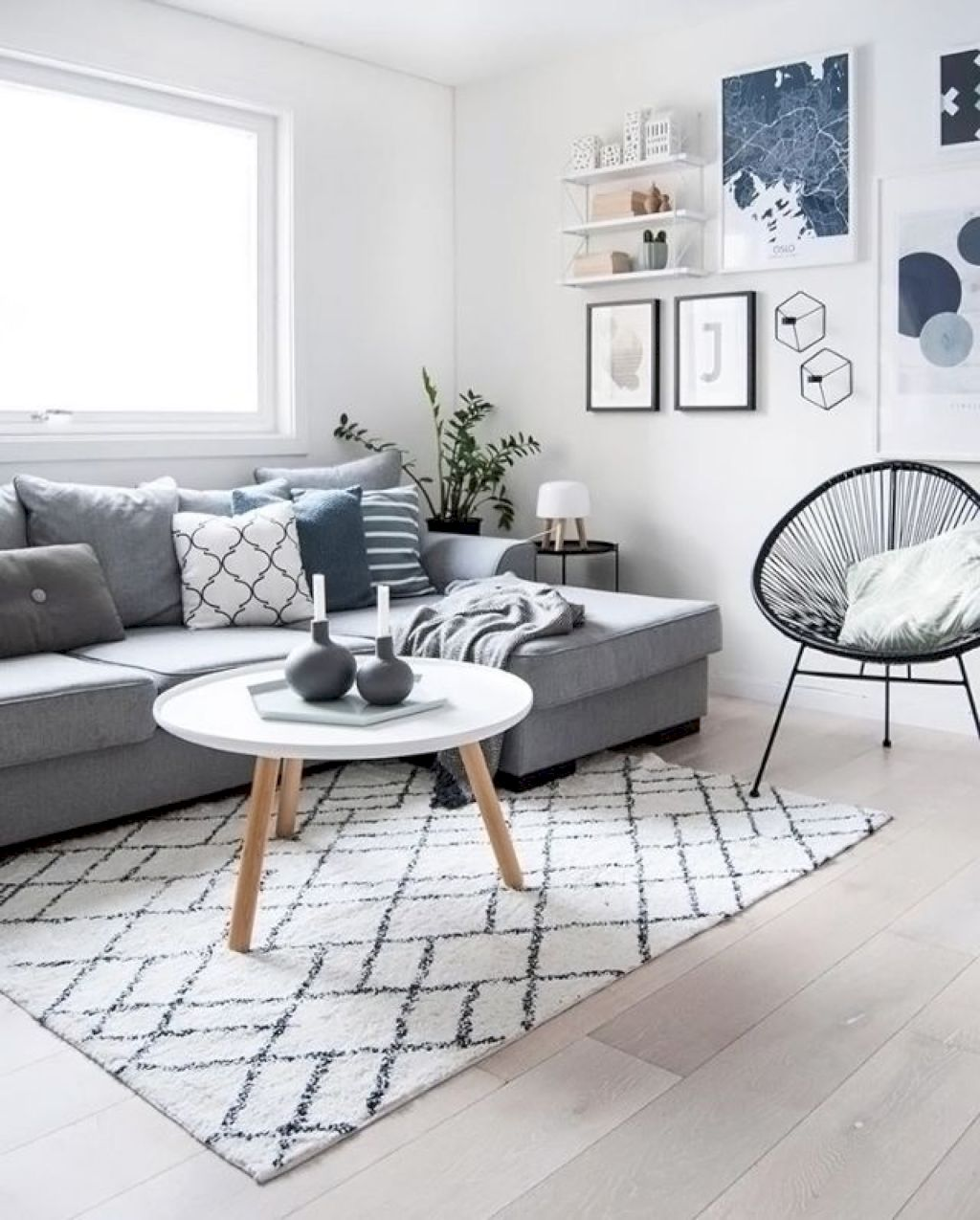 Living Room Decor Inspiration: Scandinavian Living Room Inspiration