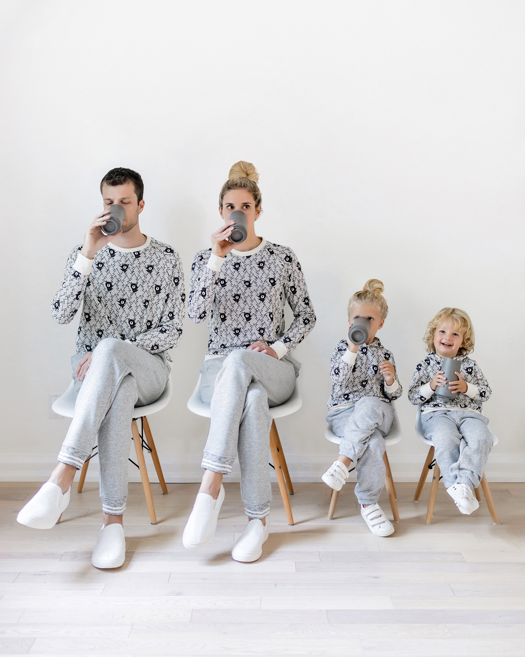 bbf21ba457 Favourite Matching Outfits for the Whole Family | Happy Grey Lucky
