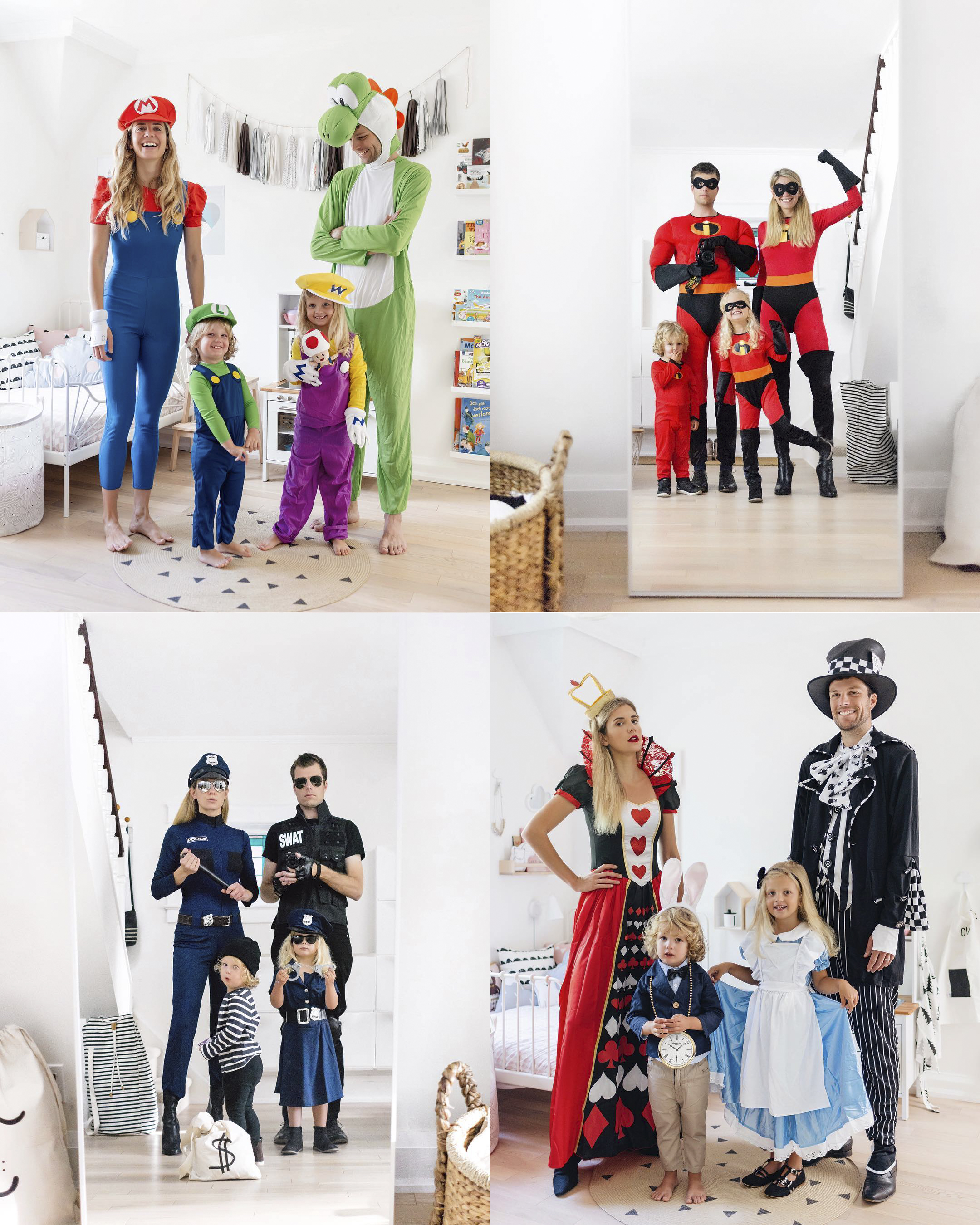 15 Fun Family Halloween Costume Ideas | Happy Grey Lucky