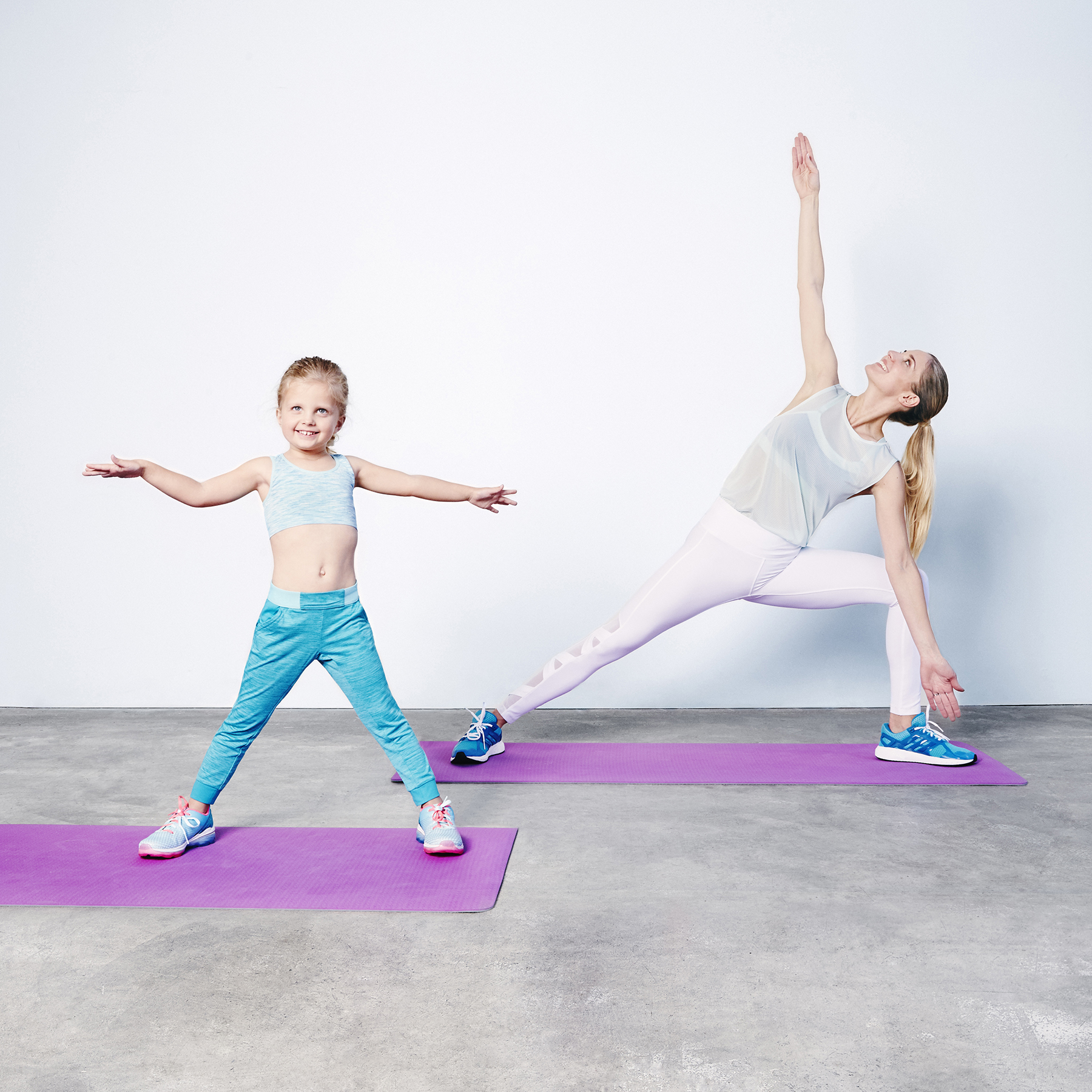 5 tips to help children develop healthy habits - mommy and me workout | Marshalls for health and wellness