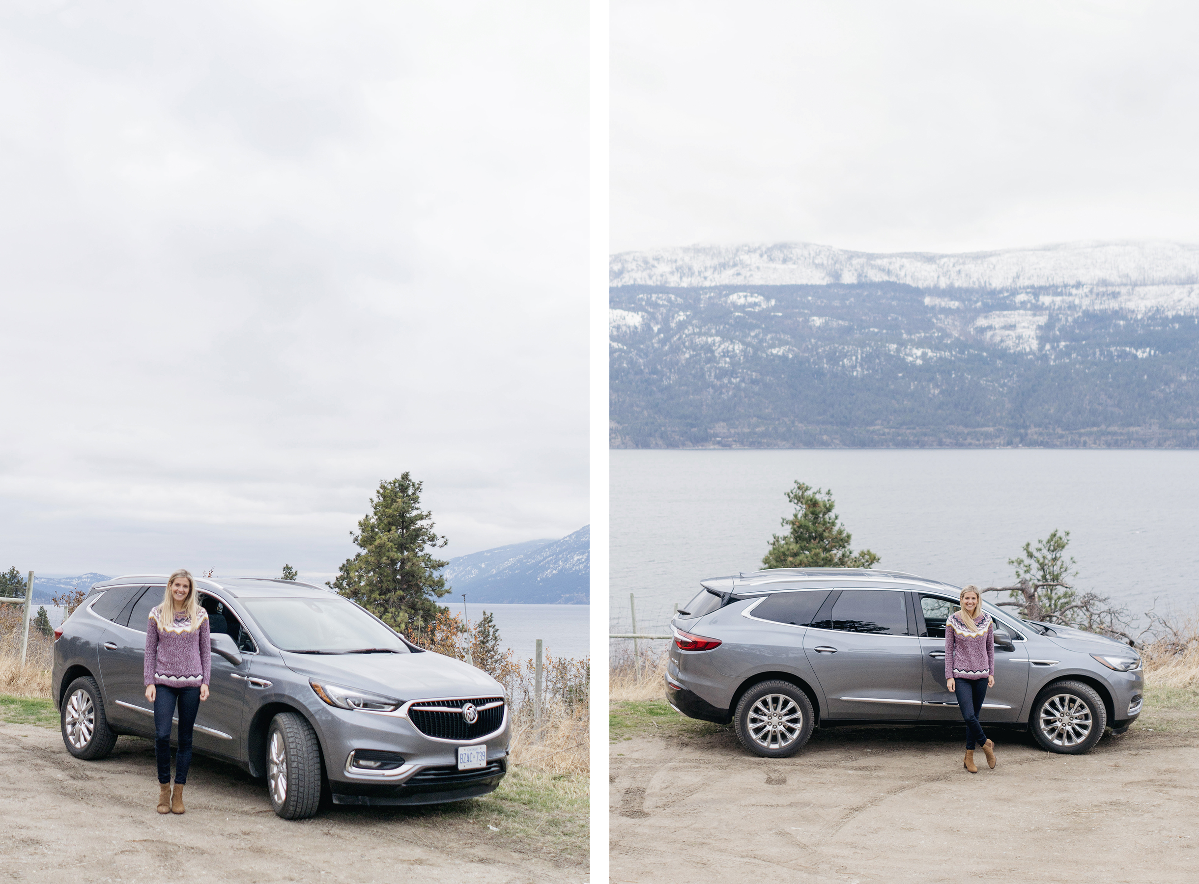 Buick Enclave in British Columbia | Happy Grey Lucky