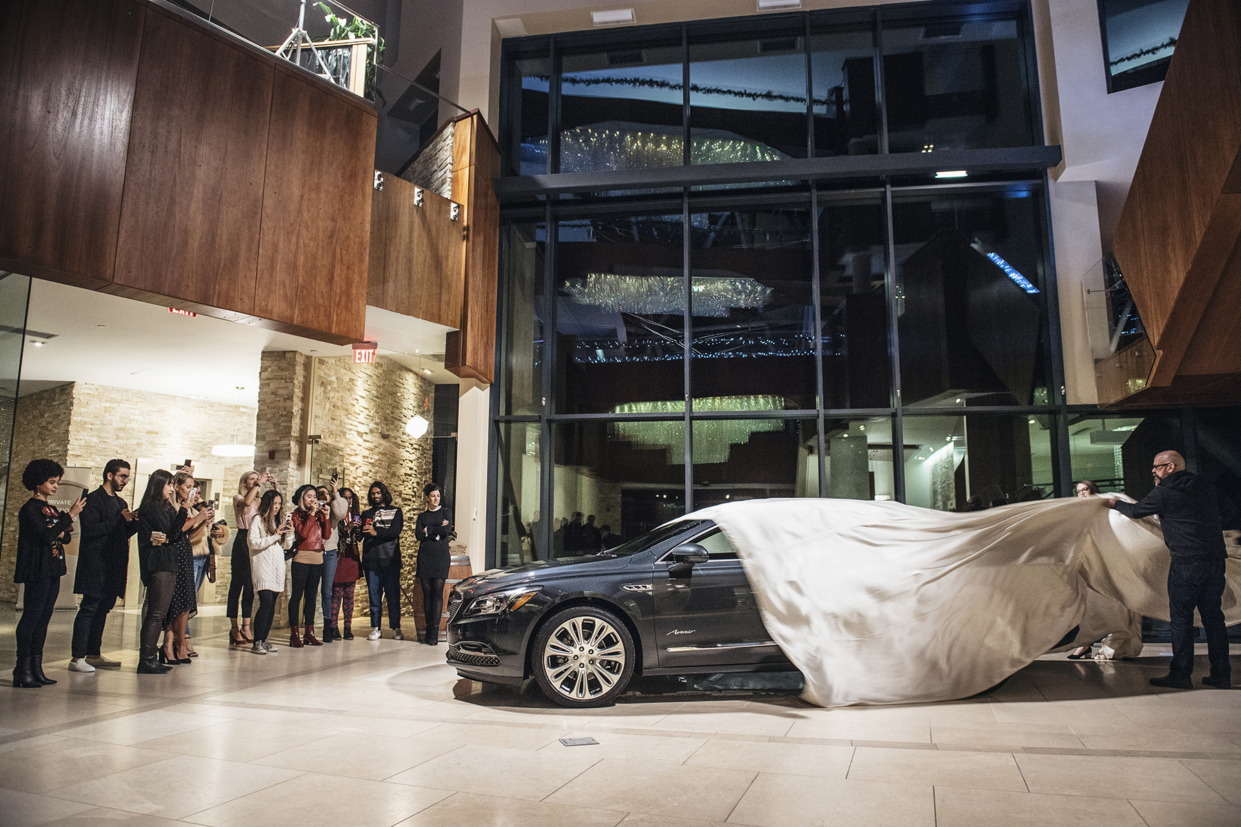 Buick unveiling at Sparkling Hill resort in Vernon, British Columbia | Happy Grey Lucky