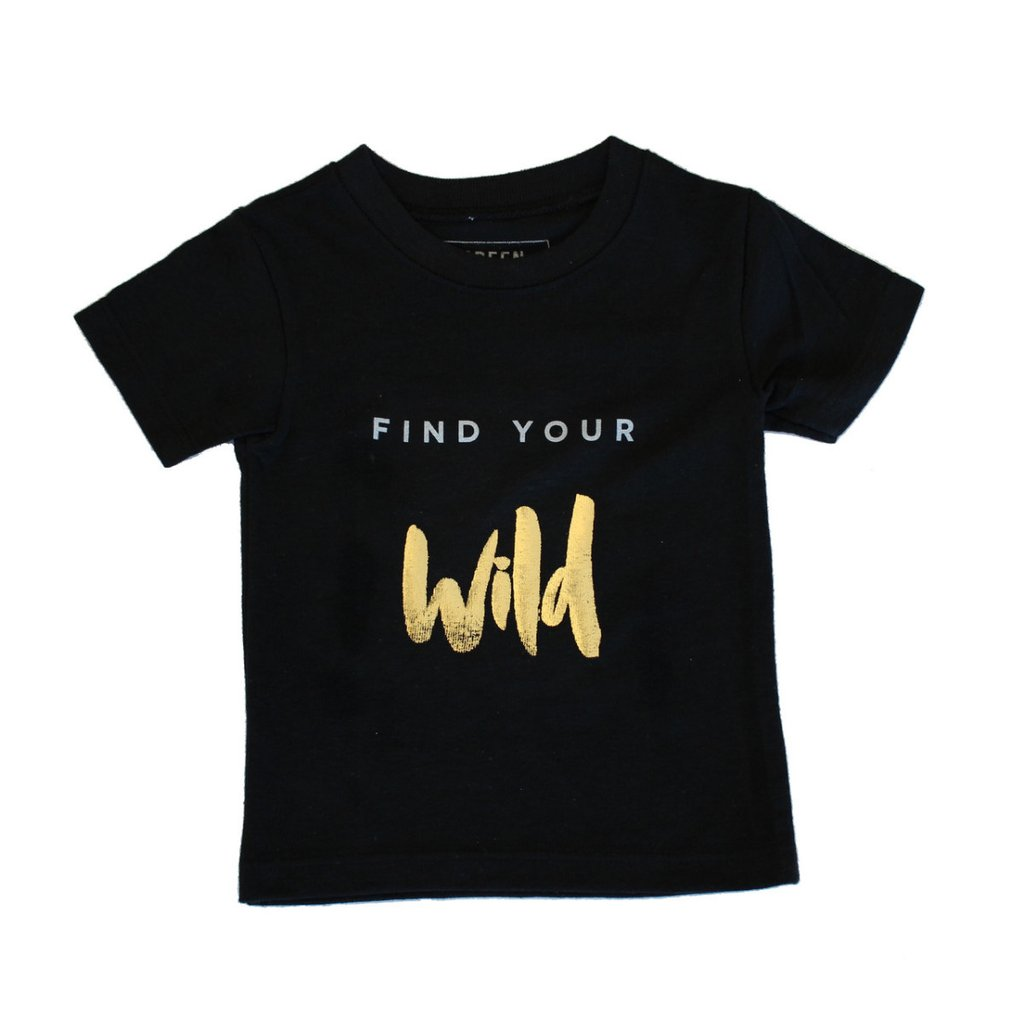Mo Green Find Your Wild tee