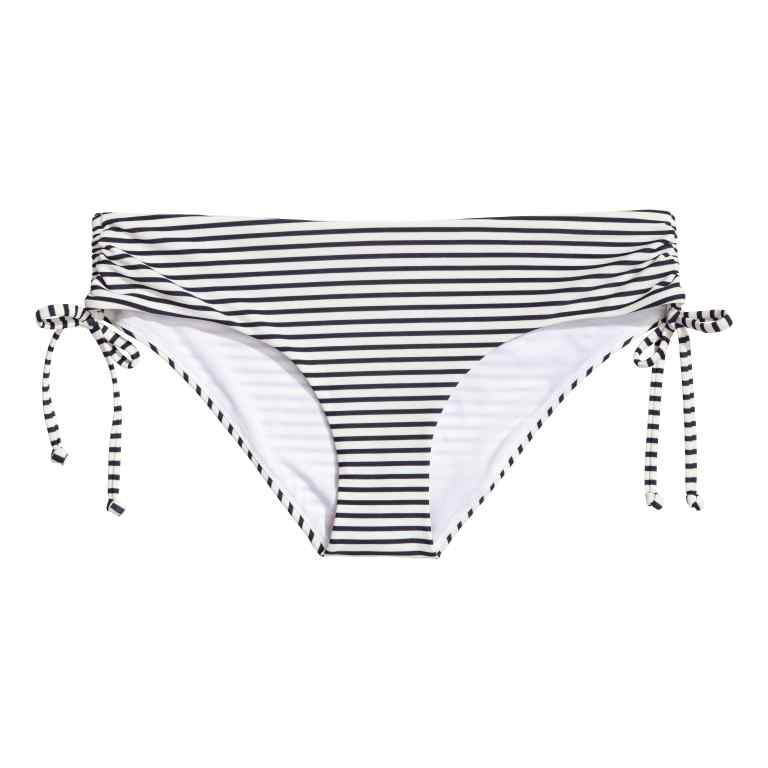 H&M striped bikini bottoms