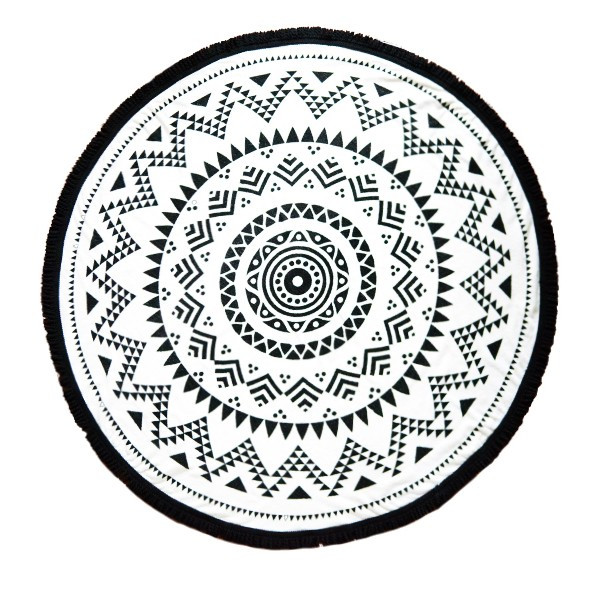 Tofino Towel Co. Long Beach round towel