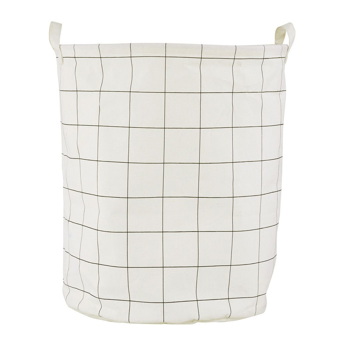 House Doctor grid laundry bag