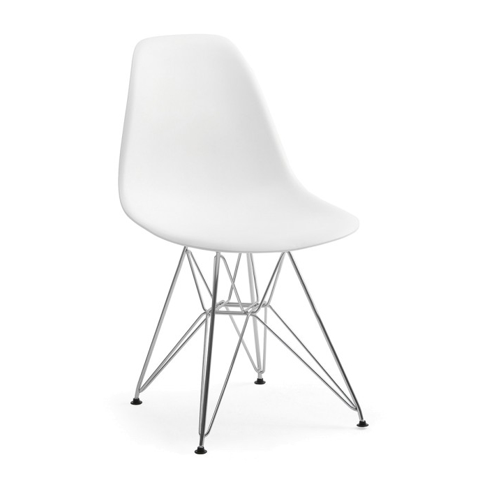 Structube Eiffel metal dining chair