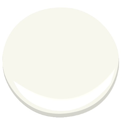 Benjamin Moore Simply White (OC 117) wall paint