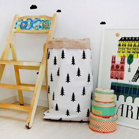 Grida Studio trees paper bag
