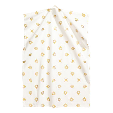 H&M star tea towel