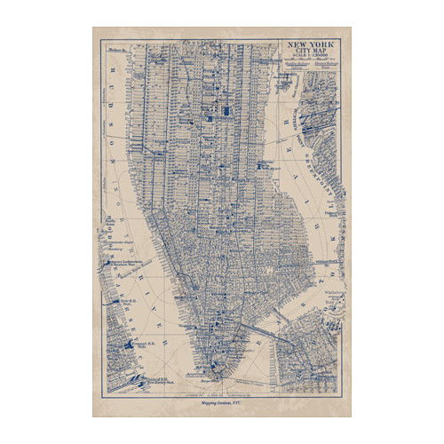 IKEA BILD Manhattan map