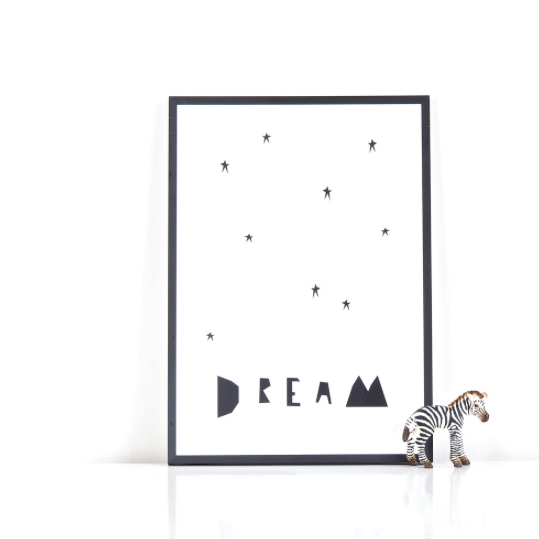 Little Minimalist dream print