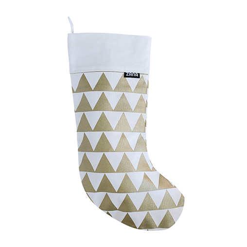 ZANA triangle Christmas stocking