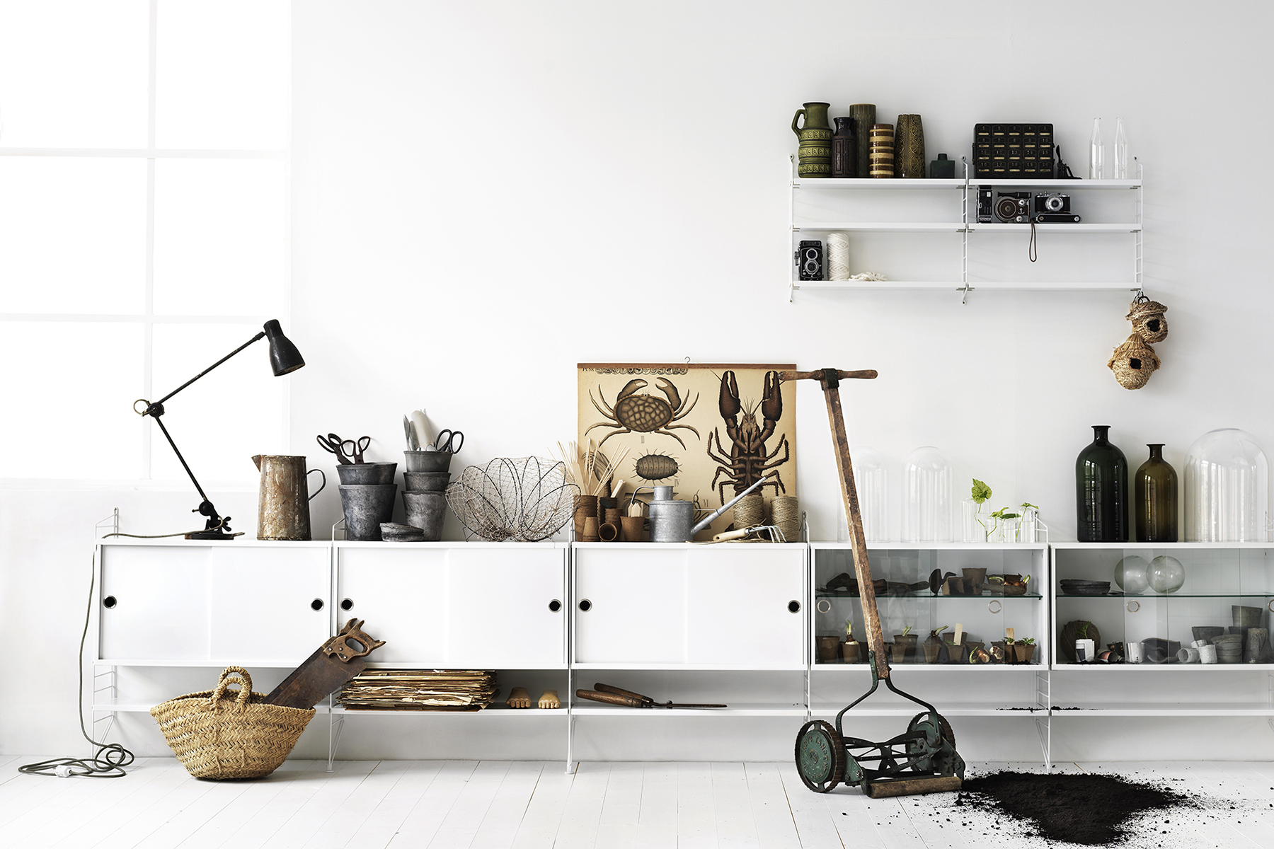 Scandinavian interiors with natural materials - Top 10 tips for adding Scandinavian style to your home | Happy Grey Lucky
