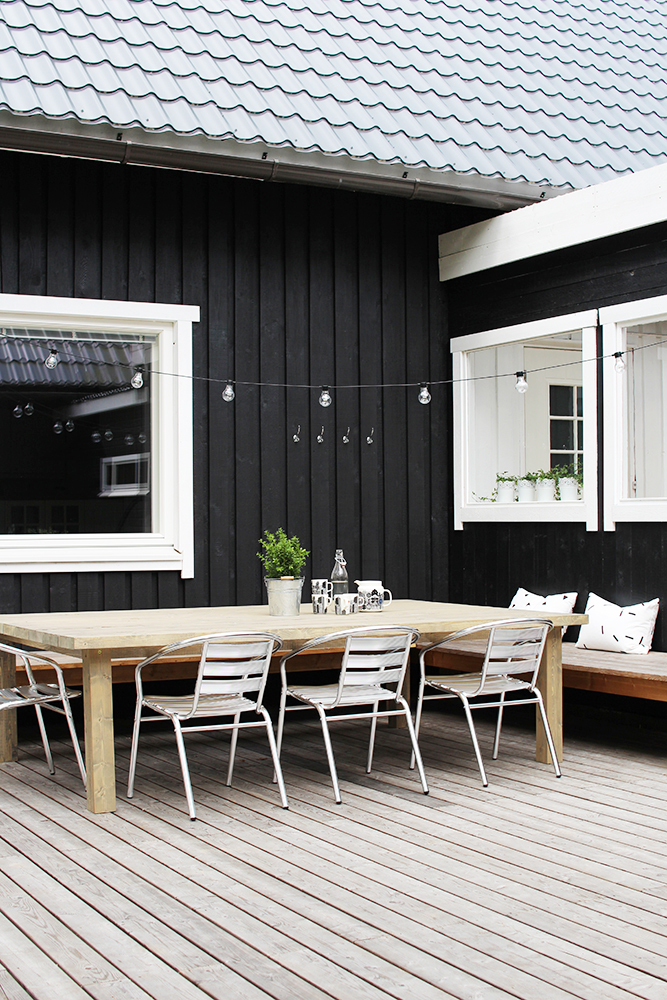 20 Scandinavian Design Ideas for your Outdoor Patio ... on Black And White Patio Ideas id=64108